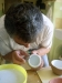 blind people making pottery / slabovidni pri delu